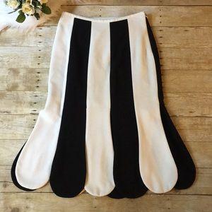 Victoria Beckham for Target Striped Skirt Size 8
